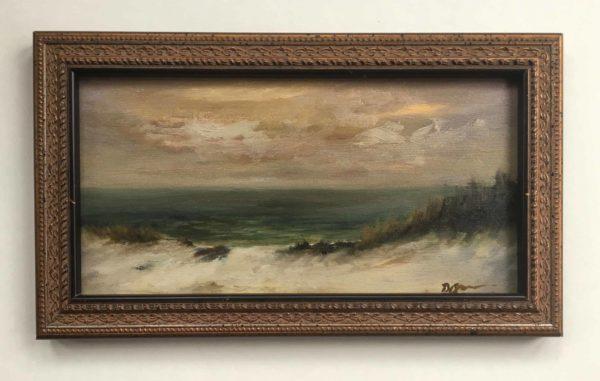 December Dune With Frame